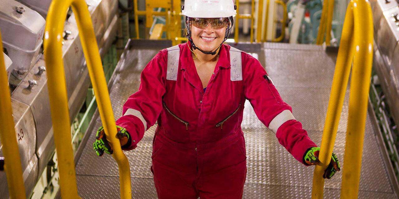 Marine Engineer Joanne Rydzewski