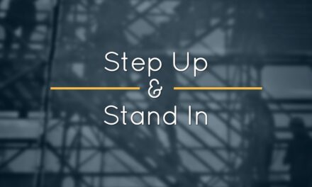 Step Up and Stand In – How to Advocate for Your Development