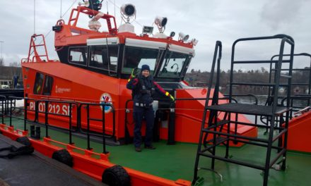 Marine Pilot, Captain Hanna Odengrund