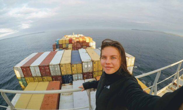 Third Officer Madeleine Wolczko
