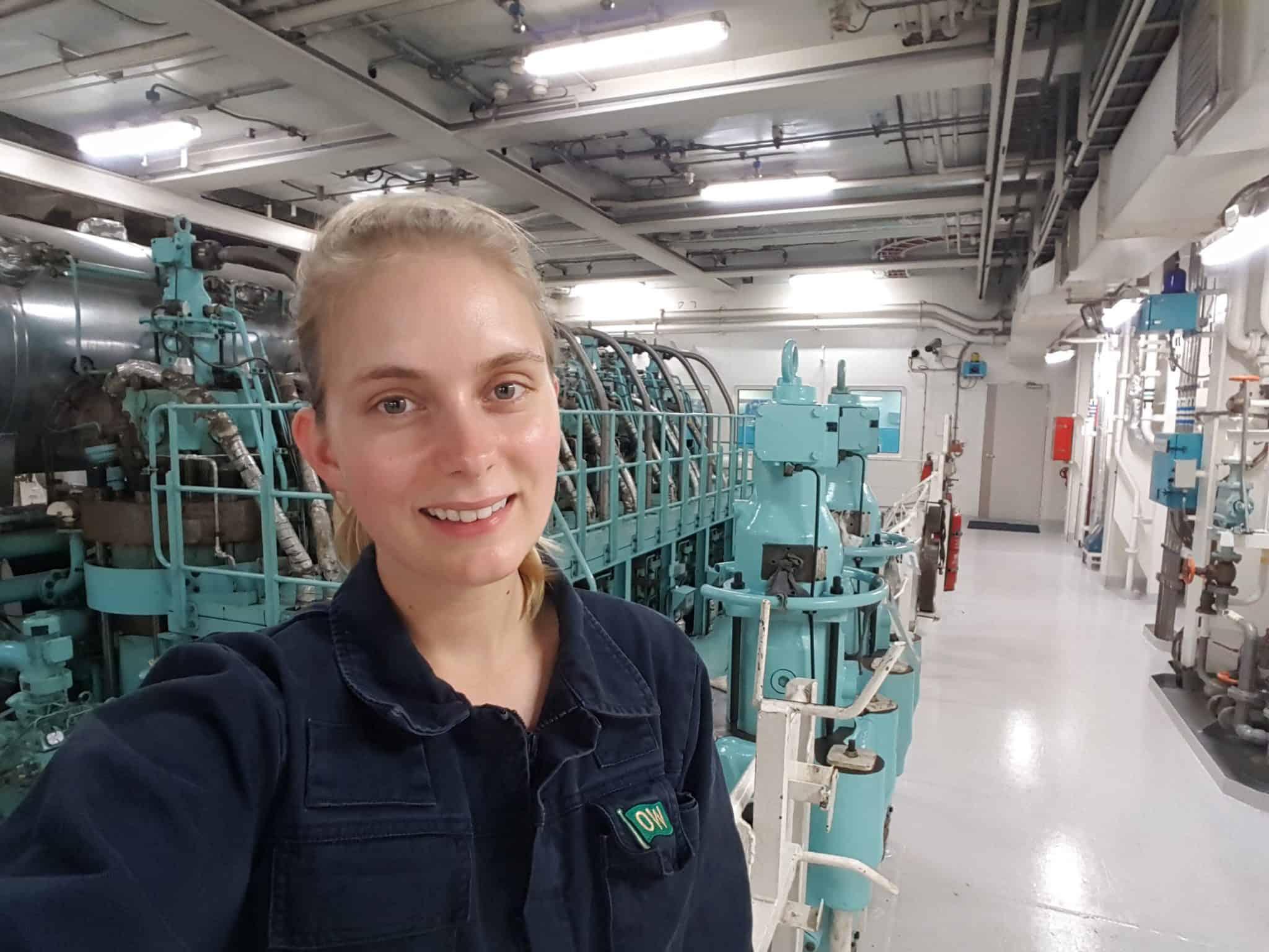 Third Engineer Klara Andersson - Women Offshore