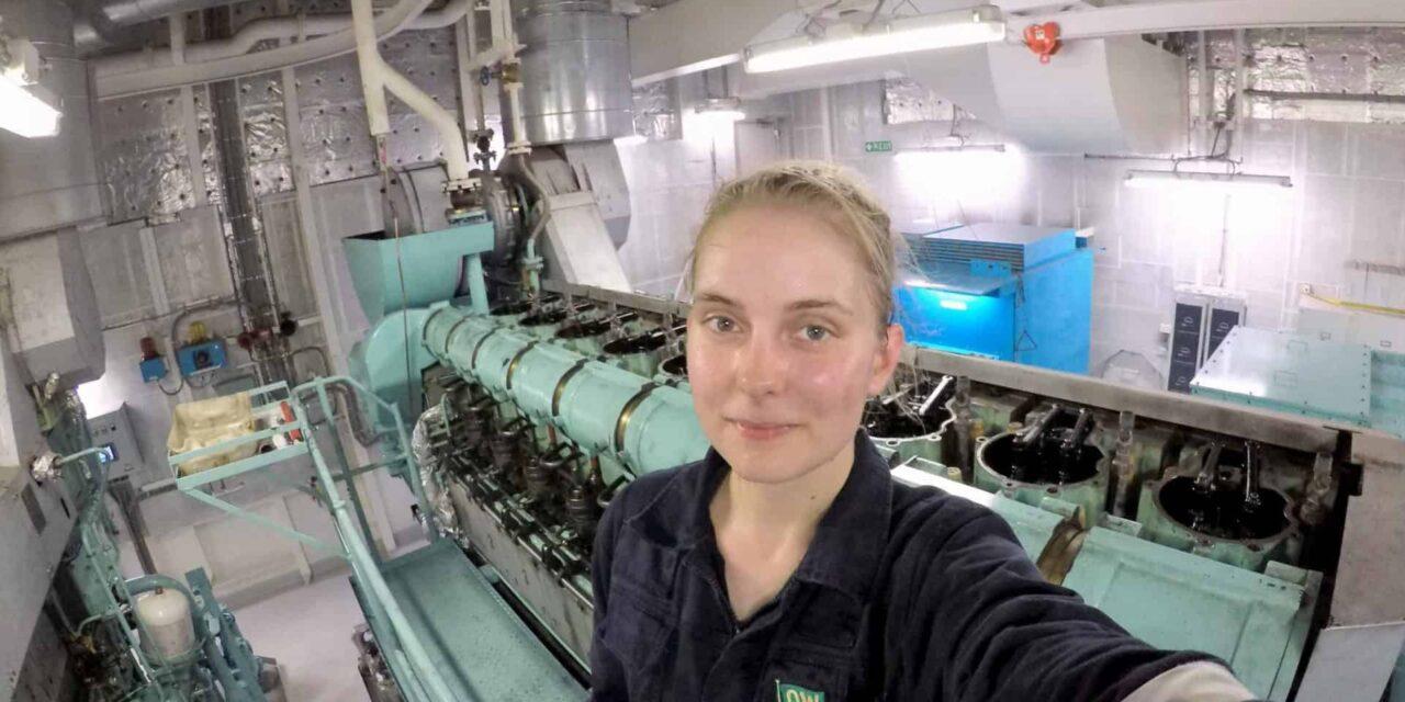 Third Engineer Klara Andersson