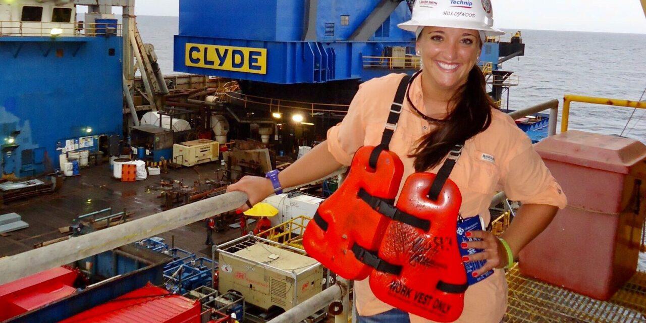 Subsea Engineer Chelcie Babin