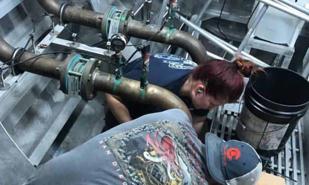 Second Assistant Engineer Alex Burgess-Chrost