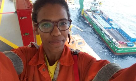 Assistant Drilling Supervisor Kamia Craveiro