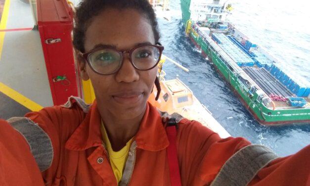 Assistant Drilling Supervisor Kamia Craveiro