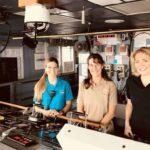 The Female Crew of the USNS Henson