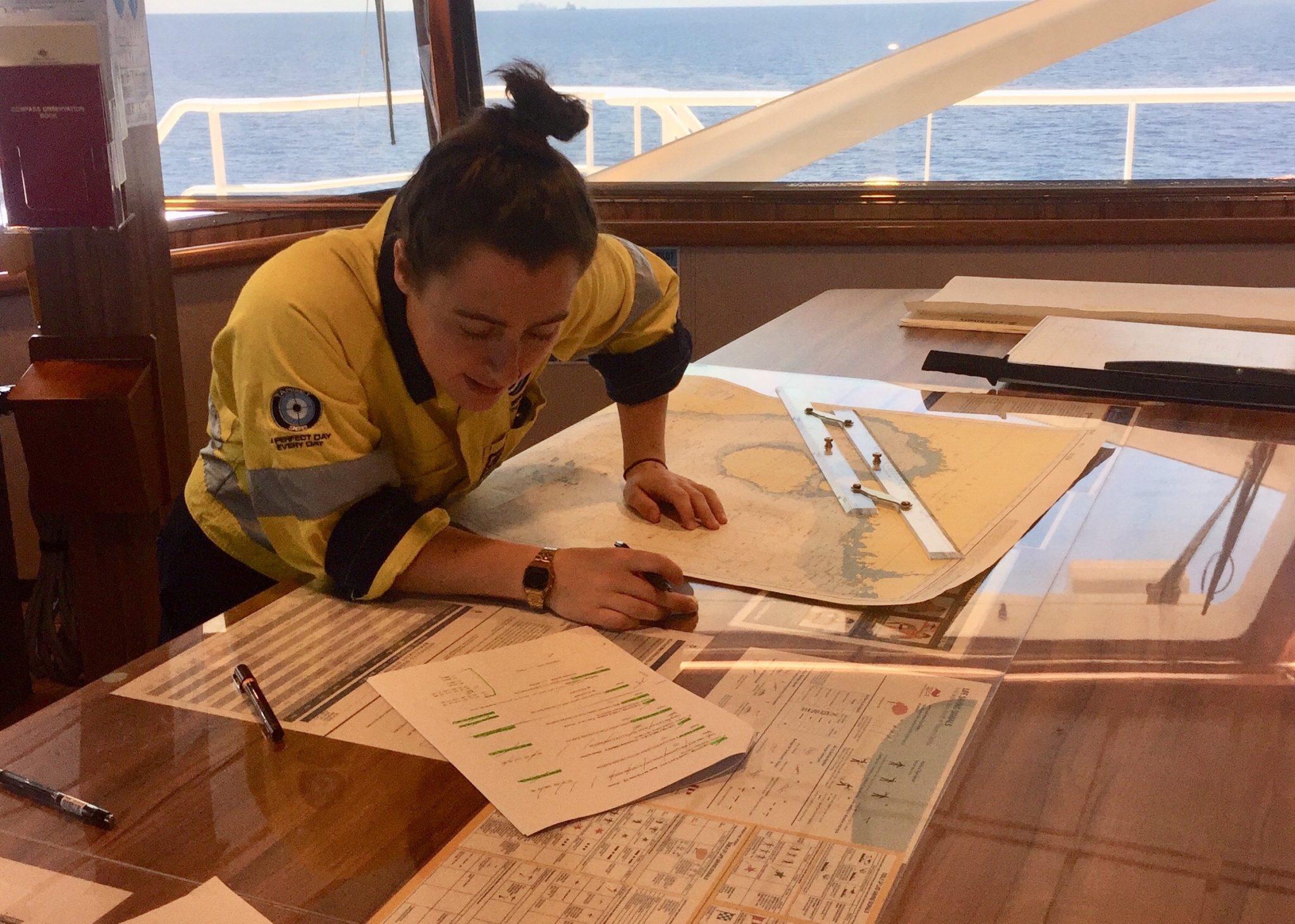 Deck Cadet Katie Marshall - Women Offshore