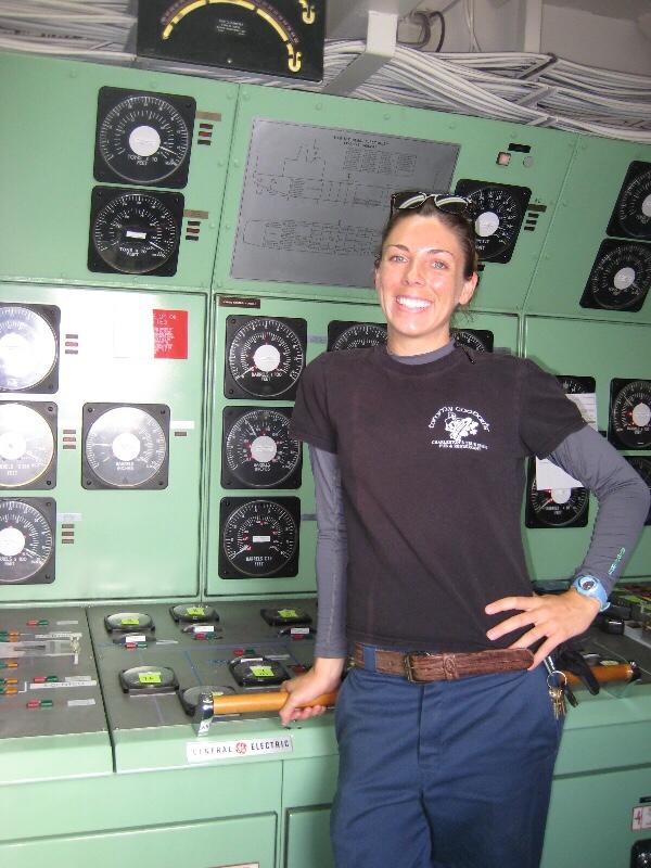 Port Engineer Erin Vernand - Women Offshore