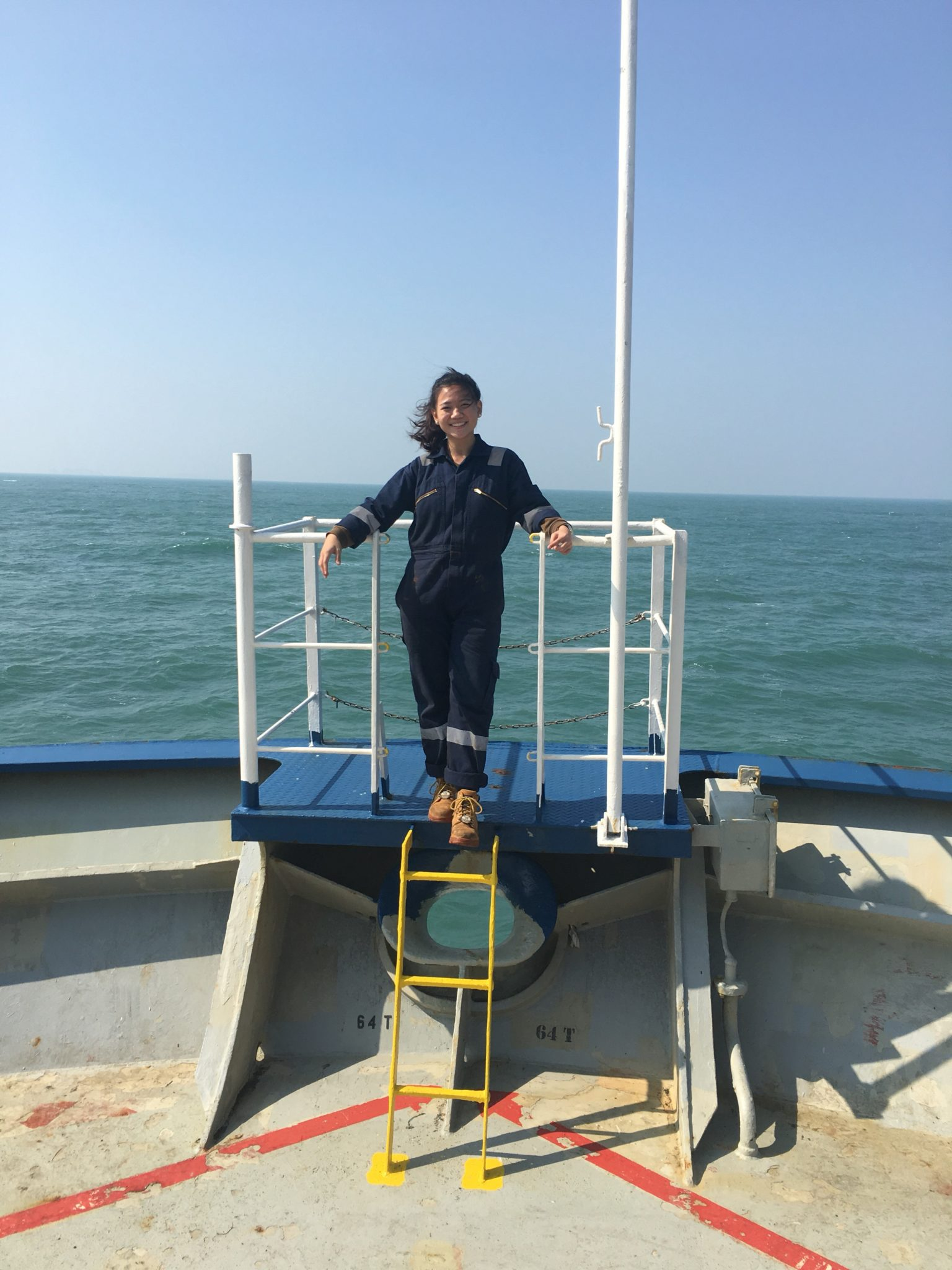 Deck Cadet Calista Chan - Women Offshore