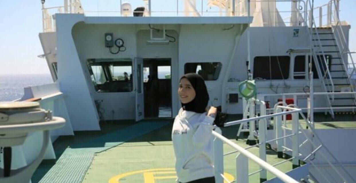 Third Officer Sara Belboukhari - Women Offshore