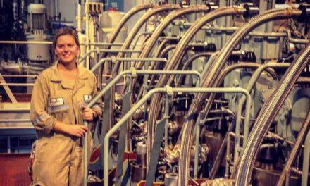 First Assistant Marine Engineer Marissa Cap