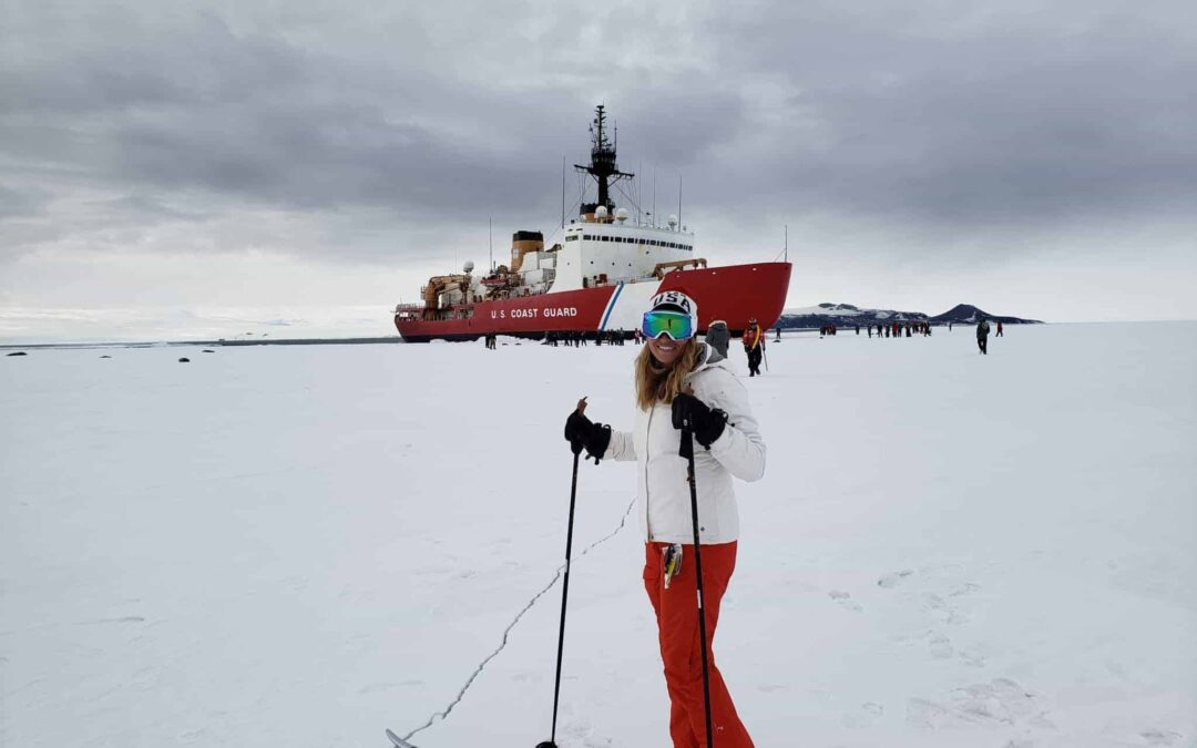 On a Rising Tide in the US Coast Guard, Karen Kutkiewicz Makes Waves to Antarctica