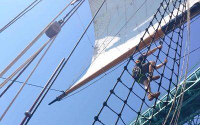 120 Feet Aloft With Tall Ship Rigger Becca Buckler