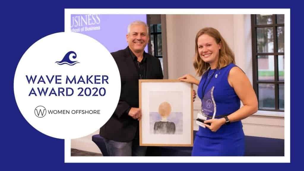 2020 Wave Maker Award