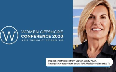 Hear from Captain Sandy Yawn, Women Offshore Virtual Conference